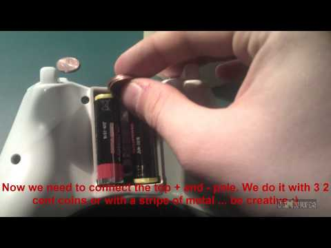 How To Use Xbox 360 Controller Without a Battery Pack ( Play and Charge Kit )