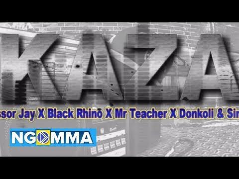 Professor Jay, Black Rhyno, DonKoli, Mr Teacher & Simple X - KAZA (Official Audio)