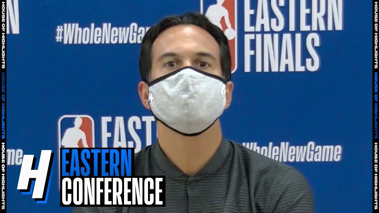 Eric Spoelstra Postgame Interview - Game 3 | Celtics vs Heat | September 19, 2020 NBA Playoffs