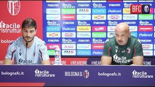 Bologna-Verona   Mihajlovic e Orsolini in conferenza stampa