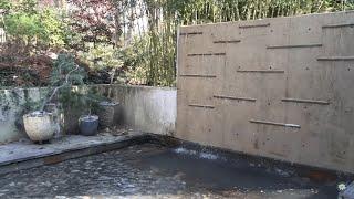 Zen Garden Pond Maintenance In Bethesda, Md