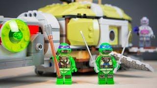 Teenage Mutant Ninja Turtles LEGO Stop Motion TMNT Kinder Playtime