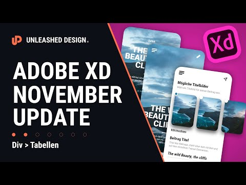 Adobe XD November Update! Hover, Co-Edit & Versioning !!!! 👍 [TUTORIAL] thumbnail
