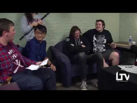 Modern Baseball Full Band Interview at The College of New Jersey