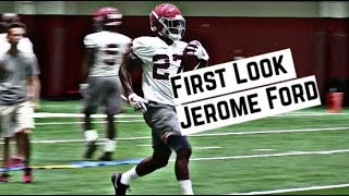 Alabama Crimson Tide Football: First look at running back Jerome Ford