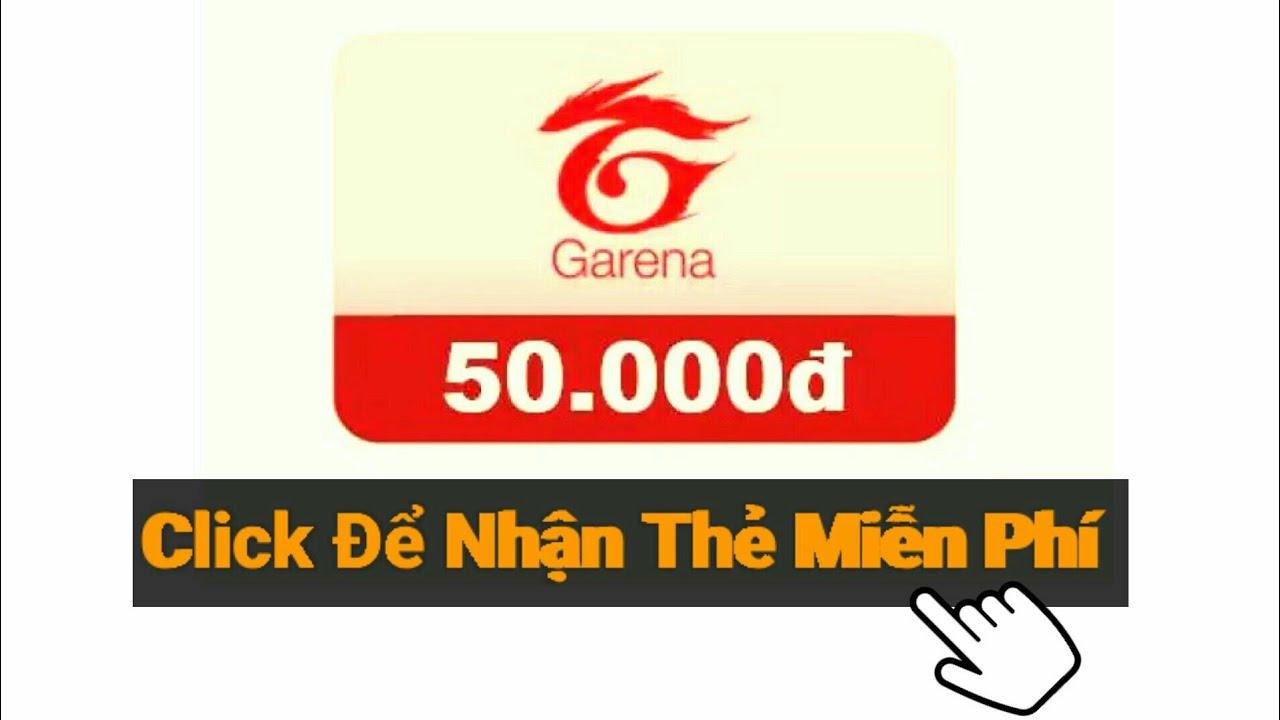 [Garena Free Fire] Sự Kiện Nhận Thẻ Garena 50K Miễn Phí – Từng Bừng Nhận Quà Nào Mọi Người…! 🎁🎁🎁