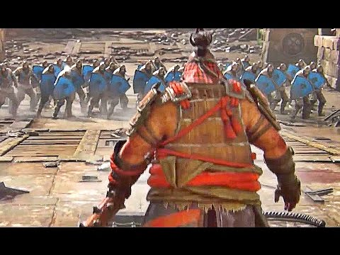 FOR HONOR ALL Heroes Class Gameplay Trailers (Samurai/Viking