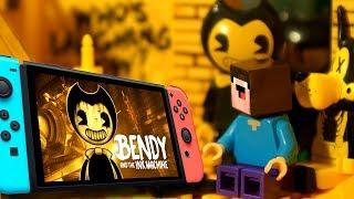 БЕНДИ 🖤 БАЛДИ vs Fortnite и Лего НУБик Майнкрафт ФНАФ Мультики - LEGO Minecraft FNAF Мультфильмы