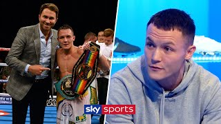 """Where do you want me to sign?!"" -Josh Warrington on meeting Hearn and resigning with Matchroom"