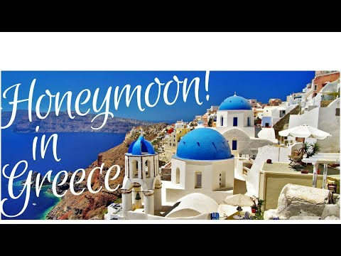Honeymoon in Greece.. Athens, Santorini & Mykonos