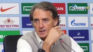 Роберто Манчини: «Друг мой, я не заинтересован в деньгах «Зенита»