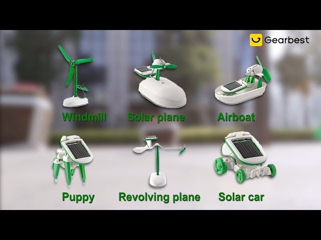 6-in-1 Solar Toy DIY Kit