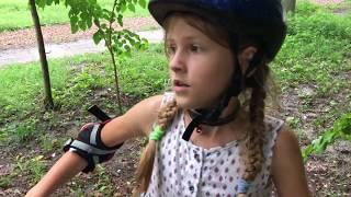 VLOG Жарим маршмеллоу / Попали под дождь