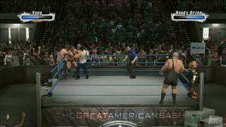 WWE SmackDown vs. Raw 2009 PlayStation 3 Gameplay - Friday Fights: 6 Man Elimination