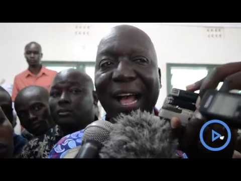 Jakoyo Midiwo asks his supporters to accept the court's ruling