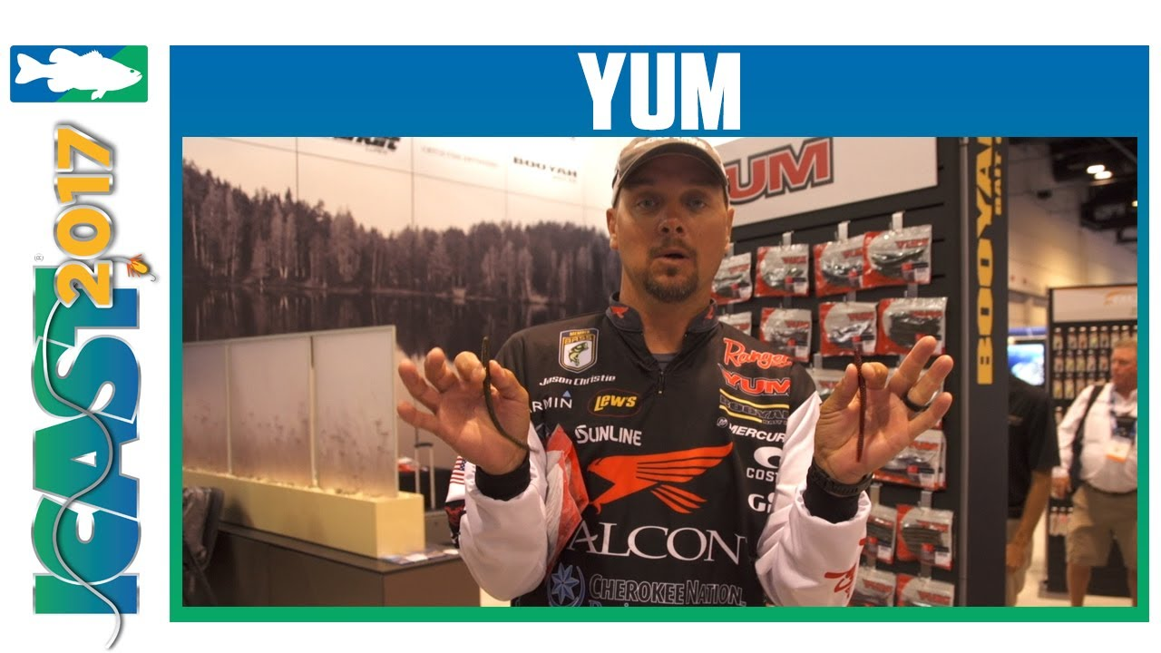 Yum Finesse Worm with Jason Christie | ICAST 2017