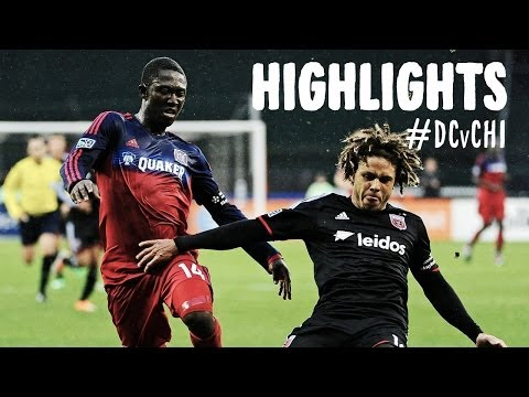 HIGHLIGHTS: D.C. United vs. Chicago Fire | March 29, 2014