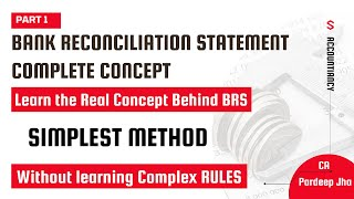 bank reconciliation statement brs simplified xith cpt ca pardeep jha part 1