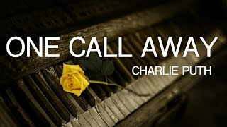 Video One Call Away - Charlie Puth | Cover by The Piano Gal/Sara Arkell download MP3, 3GP, MP4, WEBM, AVI, FLV Januari 2018