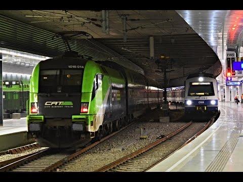 Züge Flughafen Wien  /  Trains Vienna Airport