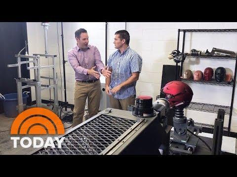 The New Football Helmet Test That Could Save Kids From Concussions | TODAY