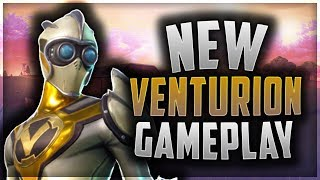 *NEW* Venturion Skin Gameplay! (Fortnite)