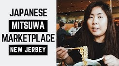 Eating Japanese Food at Mitsuwa Marketplace in NJ VLOG 03