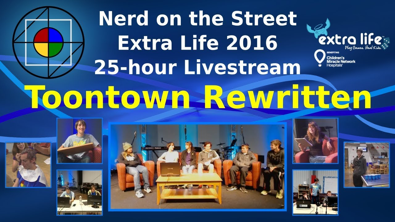 Toontown Rewritten - Extra Life 2016