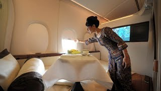 Singapore Airlines A380 First Class Suites, Hd Experience