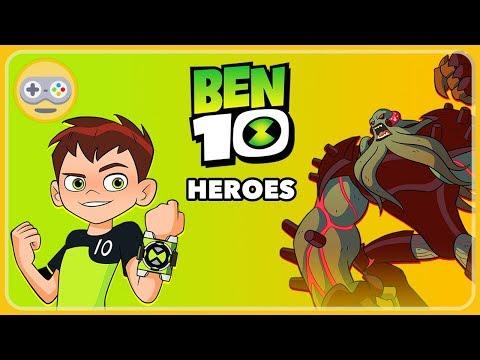 Бен 10 Герои - Раскрой мощь Омнитрикса и спаси Землю от злодея Вилгакса. Игра про мультик