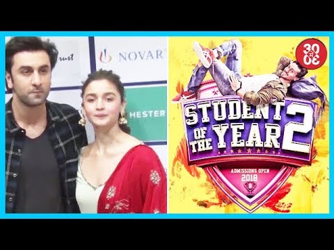 Brahmastra Stars Alia-Ranbir Spotted Together, First Look Of Student Of The Year 2 Out