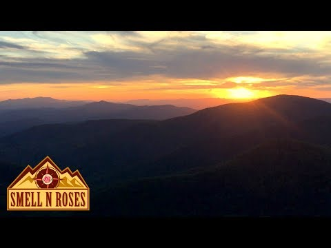Backpacking Mount Pleasant National Scenic Area, Virginia