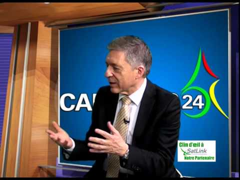 Interview with Yossi Beilin at Camnews 24.tv in Cameroon. Delivered by Satlink