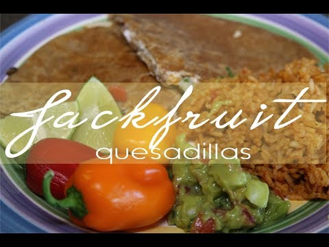 Jackfruit Quesadillas (Vegan + Dairy Free)