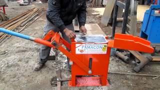 Prensadora de adobe mecánico - FAMACON