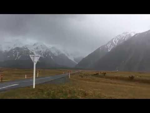 Aoraki Mount Cook Marathon 2016