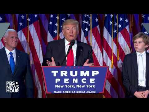 Donald Trump's Full Speech