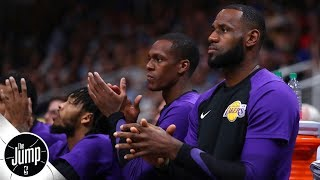 LeBron needs to make this 'small gesture' to help his Lakers teammates | The Jump