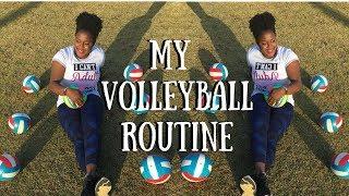 MY VOLLEYBALL ROUTINE & WARMUP! ⎮KOKO VOLLEY