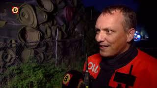 De brand bij TUF Recycling levert volgens brandweerwoordvoerder Wilbert Kleijer geen gevaar op vo...