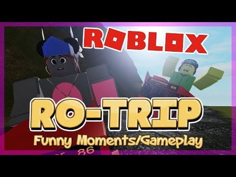 WE'RE GOING ON A ROTRIP!   ROBLOX Ro-Trip Funny Moments/Gameplay (feat. FUDZ)