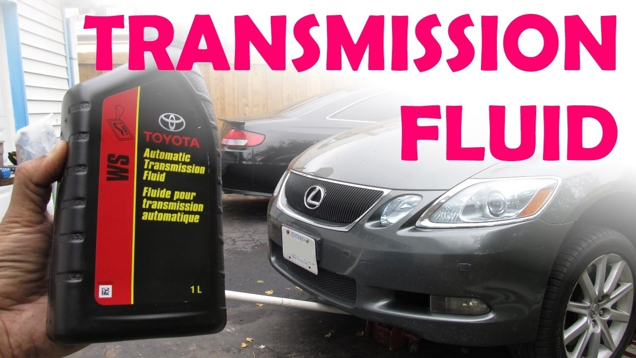 How Much Is A Transmission >> Toyota Lexus Sealed Ws Transmission Fluid Change