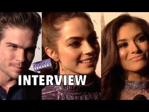 Interviews | Tyler Johnson, Caitlin Carver & Justene Alpert at 'THE MATCHMAKER'S PLAYBOOK' Premiere