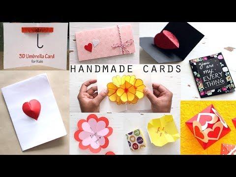10 Stunning DIY Handmade Greeting Cards | Paper Craft Ideas