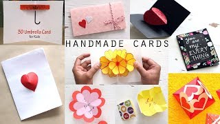 10 Stunning DIY Handmade Greeting Cards | Paper Craft Ideas