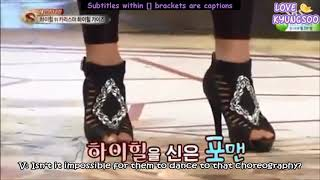 [ENG] 150616 STAR KING-BTS V (Taehyung) High heel Dance Cut
