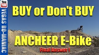 Biggest mistake people make when they buy an Electric Bicycle - Ancheer