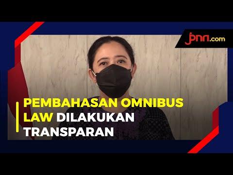 Puan Maharani Menjamin Transparansi Pembahasan RUU Cipta Kerja di DPR