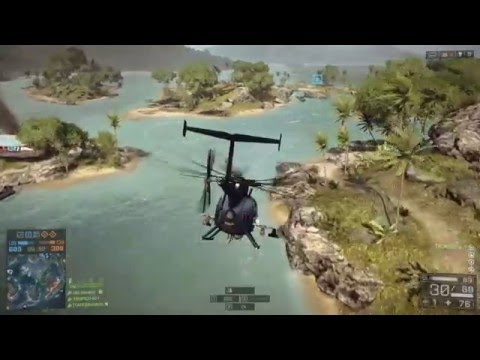 BATTLEFIELD 4 'fly with tropico' (lost island) |