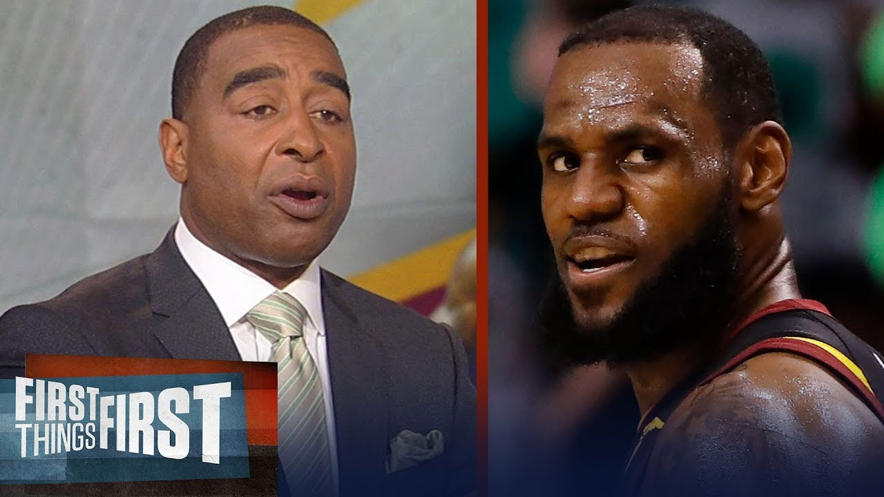 Cris Carter unveils why Cleveland's LeBron James is immune to criticism | NBA | FIRST THINGS FIRST